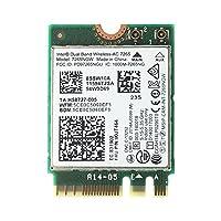 Lenovo純正 00JT464/00JT469/04X6030 Intel Dual Band Wireless-AC 7265 867Mbps Dual Band 2x2 802.11ac + Bluetooth 4.0 M.2 無線LANカード 7265NGW for Lenovo ThinkPad T450, T450s, T550, W550s, X250, L450, E550, E450, E455, E555, X1 Carbon 2nd, YOGA 12, YOGA 14, YOGA 15, Yoga S1-120