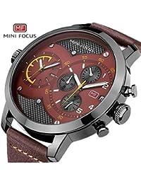 ac12f6edad MINIFOCUS メンズ腕時計 海外高級ブランド ミリタリー ...