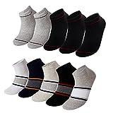 靴下 メンズ カジュアル くるぶし メンズ スニーカーソックス ショート ソックス 靴下 アウトドア 10/5足セット XLT014