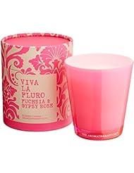 VIVA LA FLURO センティッドキャンドル フューシャ&ジプシーローズ Fuchsia&Gypsy Rose ビバ?ラ?フルーロ