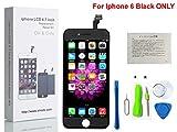 CW iPhone 6 4.7インチ交換修理用フロントパネル(フロントガラスデジタイザ)タッチパネル 液晶パネルセット 修理工具付属(?)