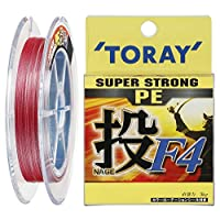 東レ(TORAY) PEライン スーパーストロング PE 投 F4 200m 2号 11kg 4本 4色