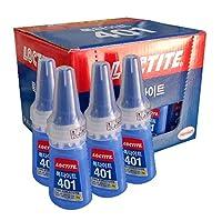 25x Loctite 40120gインスタント粘着Strongerスーパー接着剤多目的