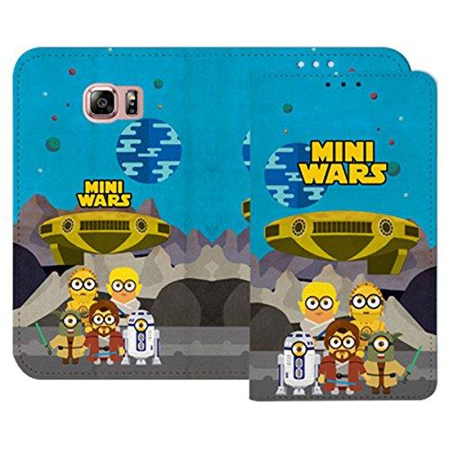 Galaxy S4 / ギャラクシー S4 (SC-04E) 対応 ケース Ecoskin Wallet Miniwars Story2 Flip エコスキン ウォレット ミニウォーズ ストーリ2 フリップ ケース スマホ カバー Type 6 / タイプ 6