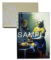 大塚国際美術館 陶板 額装品T 「牛乳を注ぐ女」 フェルメール、ヤン 絵 プレート