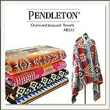 PENDLETON(ペンドルトン)100×180cm Oversized Jacquard Towel(ジャガードタオル) XB233[ブランケット][ビーチタオル/バスタオル][ひざ掛け][ウール] (Journey West)