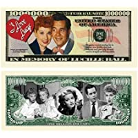 Set of 5 - I Love Lucy Lucille Ball Million Dollar Bill by American Art Classics [並行輸入品]