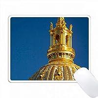 チャペルSaint Louis des Invalides、パリ、フランス。 PC Mouse Pad パソコン マウスパッド