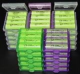 LEXEL 充電式ニッケル水素電池 単3形100本セット(最小容量1900mAh、約1000回使用可能) ケース付き