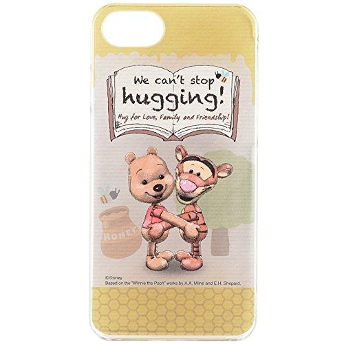 グルマンディーズ HUG-N-HAPPY iPhone7(4.7インチ)対応キャラクタージャケット くまのプーさん・ティガ― hug-01dの詳細を見る