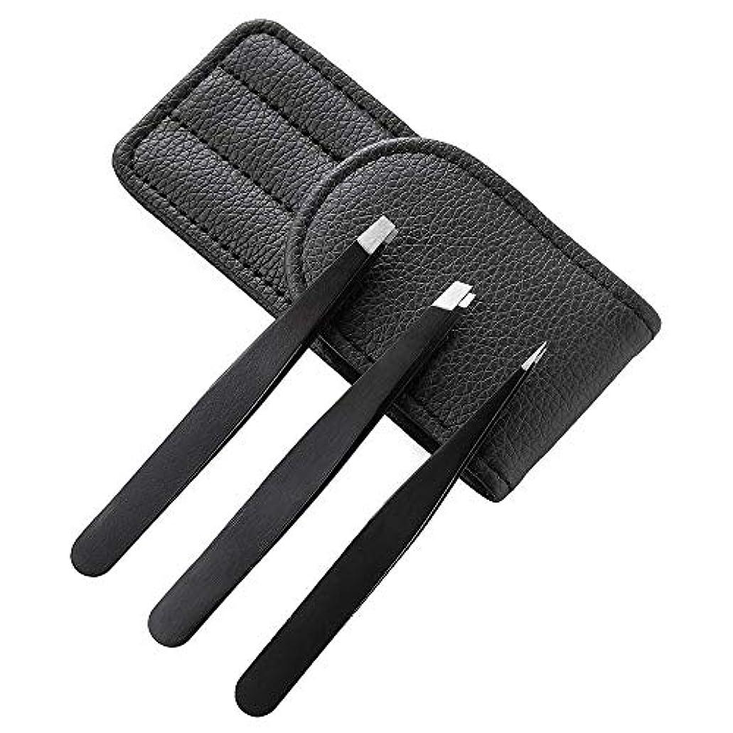 ボイド動かない杖3本セット毛抜き 眉毛ピンセット眉毛 高級ステンレス製 ピンセット ピンセット用途でお使いいただけます