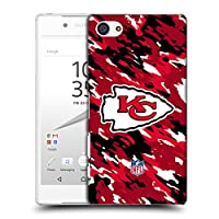オフィシャル NFL カモフラージュ カンザスシティ・チーフズ ロゴ ハードバックケース Sony Xperia Z5 Compact