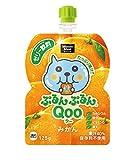 コカ・コーラ ミニッツメイド ぷるんぷるんQoo みかん味 125g パウチ×6本