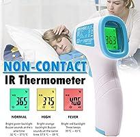 体温測定器 体温測定 温度計 高精度 非接触型 赤外線 学校用 企業用 家庭用 ホワイト
