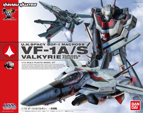 Details about U N  Spacy SDF-1 Macross VF-1A/S Valkyrie 1/72 Do You  Remember Love? Model kit