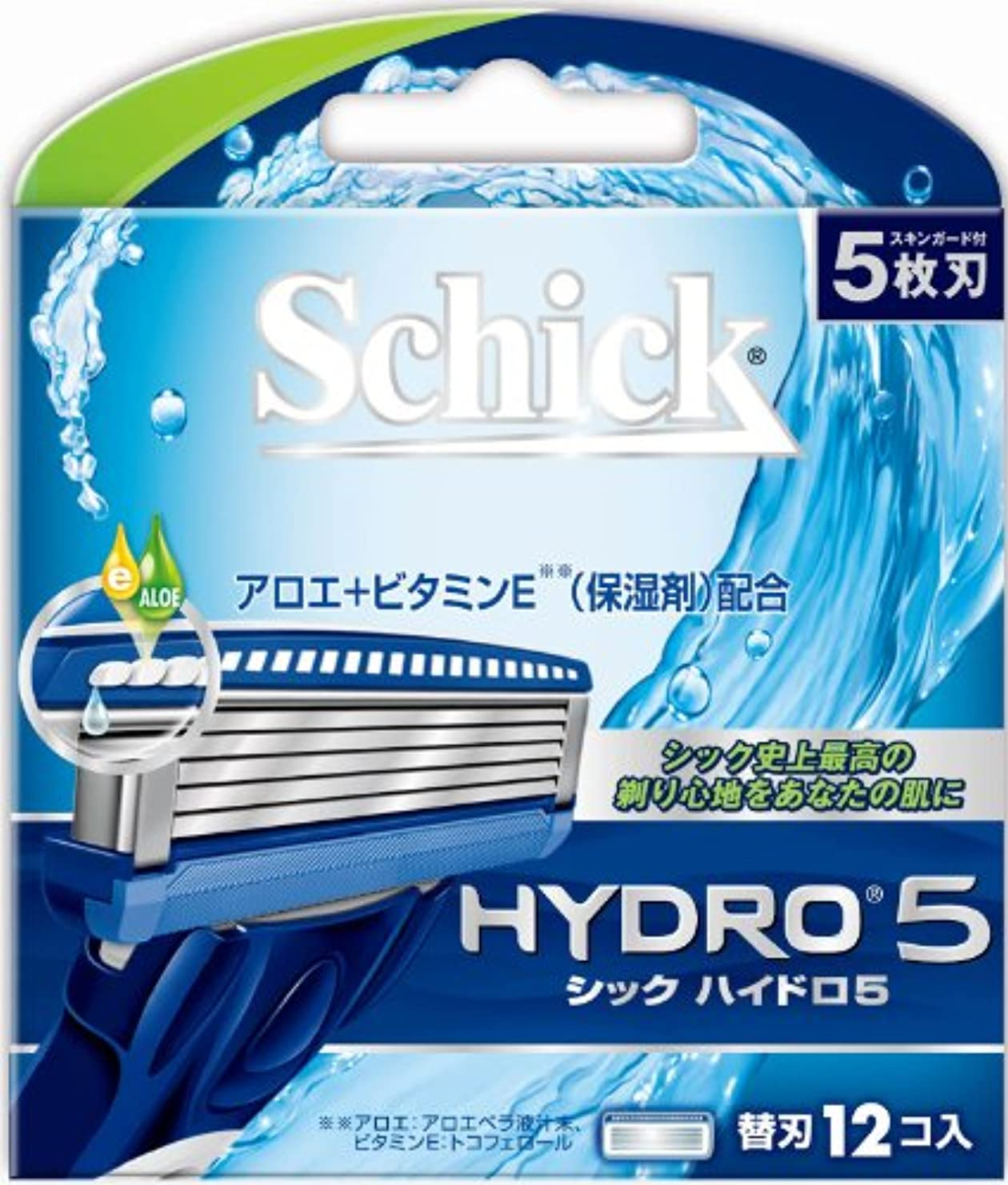 香ばしい防止天国シック ハイドロ5 替刃(12コ入)