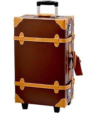 スーツケース キャリーバッグ トランクケース ROMAN ブラウン M型
