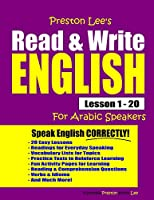 Preston Lee's Read & Write English Lesson 1 - 20 For Arabic Speakers