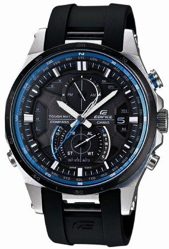 [カシオ]Casio 腕時計 EDIFICE エディフィス タフ・ムーブメント スマート・アクセス搭載 世界6局電波ソーラーウォッチ EQWA1200B1AJF メンズ