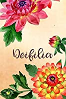 Deifilia: Personalized Journal for Her (Su Diario)