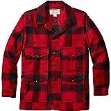 フィルソン アウター ジャケット&ブルゾン Filson Mackinaw Cruiser Alaska Fit Jacke Red/Black [並行輸入品]
