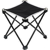 MUSON(ムソン) アウトドア 折りたたみチェア ウルトラライトチェア 超軽量 300gコンパクト持ち運びに便利 耐荷 簡単に収納 組み立て椅子 収納バッグ付き お釣り 登山 キャンプ用 YS1