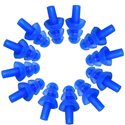スイミング耳栓 スイム用耳栓 耳保護プラグ 水泳耳栓 ソフト...