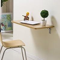 ZZHF 折りたたみテーブル/ダイニングテーブル/コンピュータテーブル/壁/収納テーブル/ホームデコレーションテーブル デスク (色 : A, サイズ さいず : 60*40CM)