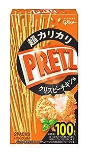 江崎グリコ 超カリカリプリッツ(クリスピーチキン味) スナック菓子 55g ×10個