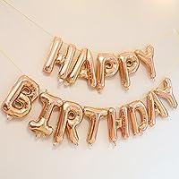 誕生日 飾り付け 風船 happy birthday バルーン バースデー パーティー 装飾 風船(シャンパンカラー)J010R