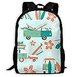 車 バックパック 通学 リュックサック ナップザック 多機能バッグ デイパック ショルダーバッグ