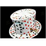 カードハット Card Fan To Card Top Hat -- マジックアクセサリー
