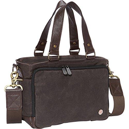 トーケン バッグ スーツケース Nostrand Waxed duffle Bag (XXS) Dark Brown [並行輸入品]