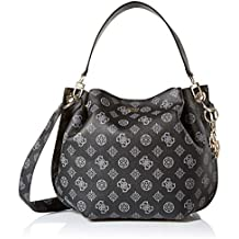 GUESS womens Digital Logo Hobo