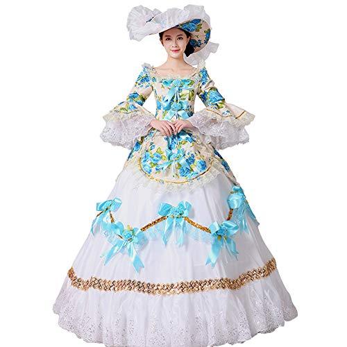2caa52b4d418c FERE8890 ドレス レディース 貴族 ヨーロッパ系 宮廷 中世風 ワンピース 舞台衣装 ステージ衣装 オペラ 撮影