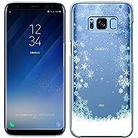 「Breeze-正規品」iPhone ・ スマホケース ポリカーボネイト [透明] Samsung Galaxy S8 ケース SC-02J/SCV36 ギャラクシーs8 カバー 液晶保護フィルム付 全機種対応 [GS8]