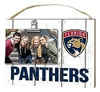KH Sports Fan 10インチ x 8インチ フロリダパンサーズ クリップイット ウェザードロゴ NHL フォトフレーム