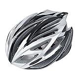 パラディニア(Paladineer)超軽量 サイクリングヘルメット 高剛性 21穴通気 アジャスター サイズ調整可能 7色 自転車用 シルバー