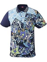 ニッタク(Nittaku) 卓球 男女兼用 ウェア ゲームシャツ ミラボシャツ NW-2184