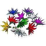 「♣zqion」手ぶらで花を出す 舞台にマジック部品 10個入 手品道具