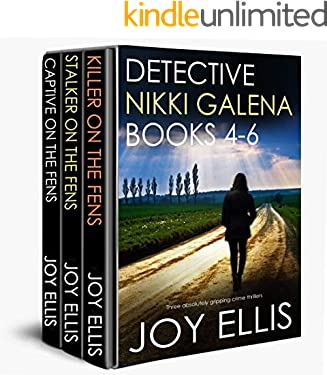 DETECTIVE NIKKI GALENA BOOKS 4-6 three absolutely gripping crime thrillers