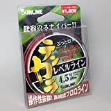 サンライン(SUNLINE) 驚きのしなやかさ!リピーター続出『ぶっとびテンカラレベルライン』3~4.5号・30m