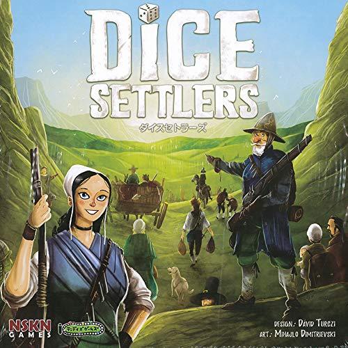 ダイスセトラーズ(Dice Settlers)日本語版/NSKN Games・テンデイズゲームズ/David Turczi