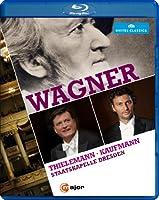 ワーグナー・イン・ドレスデン (Wagner / Thielemann | Kaufmann | Staatskapelle Dresden)  [Blu-ray] [輸入盤・日本語帯解説付]