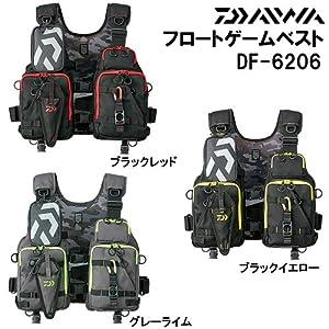 ダイワ(Daiwa) フローティングベスト フロートゲーム ブラックイエロー DF-6206