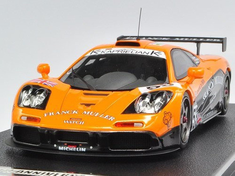 KIDBOX/HPI 1/43 McLaren F1 GTR No53 1996 Le Mans FRANCK MULLER 完成品