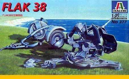 イタレリ 377 1/35 FLAK38対空機関砲