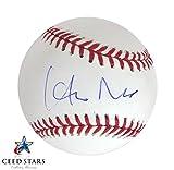 野茂英雄 直筆サイン入り MLB公式ボール JSA社 筆跡鑑定シリアルナンバー証明書付き シードスターズ証明書付き