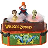 Department 56 4025395 Halloween Accessories for Dept 56 Village Collections Whack A Zombie Animated Accessory, 5.04-Inch by Department 56 [並行輸入品]