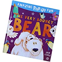 fityleハードカバーPop Up Book、カラフルな図面動物認知( Babies Kids Love ) – Bear